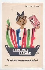 Buvard - Teinture Idéale...Dessin d'après Hervé Morvan (Réf. 70/31)