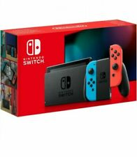 *NEW* Nintendo Switch Neon Blue/Neon & Red JoyCon Controllers & Improved Battery