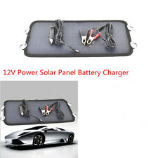 8.5W 12V Power Solar Panel Battery Charger For Car SUV Truck Boat Marine Caravan
