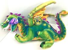 "NWT MELISSA & DOUG HUGE JUMBO Winged Dragon Plush 40""X 18"" Stuffed Magic Rainbow"
