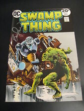 Wow! SWAMP THING #6 **SIGNED BY B. WRIGHTSON!** (8.5/9.0) SIGNATURE GUARANTEED!