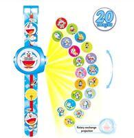Doraemon watch reloj projection proyector kids niños marvel