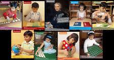 Montessori Curriculum Manuals / Albums (Set of Nine)
