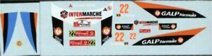Mitsubishi Lancer WRC - Rally de Portugal 2007 - Armindo Araújo - Decal