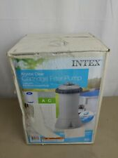 Intex Krystal Clear 1000 GPH Easy Set Swimming Pool Pump Filter System 28637EG