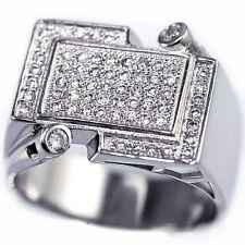 Crystal 14k Rings for Men