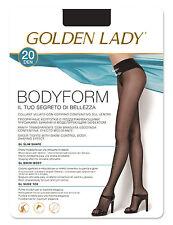 "Golden Lady ""Bodyform 20"" Strumpfhose mit formendem Bikinislip - figurbetonend"