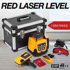 Rotary Laser Level Red Beam Measuring Self-leveling 500m Range IP 54