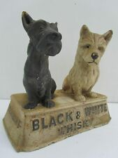 Rare Original Rubber Store Display  Figure Buchanan's Black & White Whisky