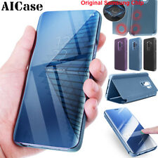 Original Samsung Chip Galaxy S9 S8 Plus Note8 S-View Touch Flip Case Stand Cover