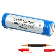 Exell 1.2V Razor Battery Compatible with Norelco 13810336 20XL 482213810633