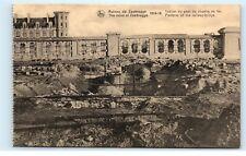 *Zeebrugge Belgium The Ruins Platform Railway Bridge Old Vintage Postcard B93