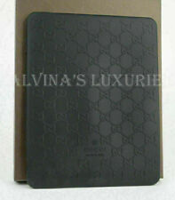 GUCCI IPAD SILICONE CASE GG GUCCISSIMA LOGO 272402 COVER BLACK NEW