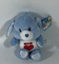 Nwt Care Bears 20th Anniversary Loyal Heart Dog Care Bear Cousin 8� Beanie