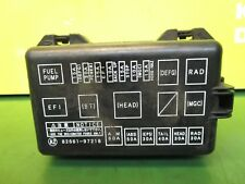 Daihatsu Fourtrak Fuse Box - Wiring Diagram Table on