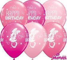 Palloncini rosa ovale compleanno bambino per feste e party