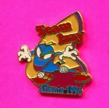 1996 OLYMPIC PIN TEAM IZZY WRESTLING PIN 2020 OLYMPIC TRADER PIN IMPRINTED PIN
