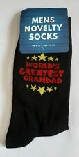 MENS - World's Greatest Grandad  Character Socks novelty gift socks
