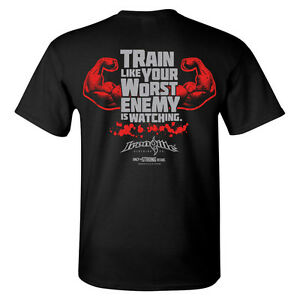 Worst Enemy Bodybuilding T-Shirt by Ironville Clothing