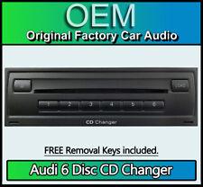 Audi Q7 6 Disc CD changer 4F0035110A + removal keys, Alpine MHAD801A 4L Facelift