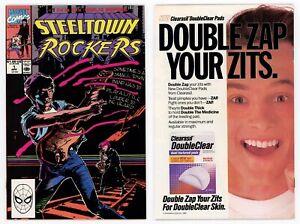 Steeltown Rockers #1 NM 9.4 Led Zepplin's Stairway to Heaven 1990 Marvel Comics
