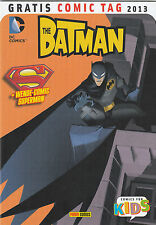 BATMAN / SUPERMAN ADVENTURES - GRATIS COMIC TAG 2013 - PANINI - TOP