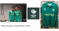 Icc Champion's Trophy 17 Pakistan Cricket Team Official Long Sleeves T-Shirt