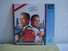 Red Heat - Laserdisc Pal Deutsch - Limitiert & ungeschnitten - Fast Wie Neu