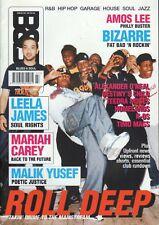 Roll Deep on Blues & Soul Magazine Cover 2005   Mariah Carey    Alexander O'Neal