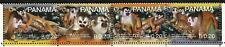 Panama 2007 Endangered Red-Back Squrriel Monkey set of 4 with WWF Panda Logo MNH