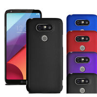 For LG G6 H870 - Hybrid Hard Case Slim Thin Clip On Cover & Screen Protector