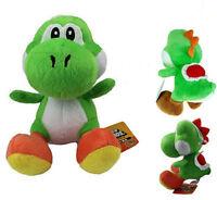 New Super Mario Bros  Green Yoshi Plush Toy Kids Soft Toy Doll 18CM