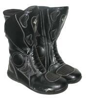 """ TRONIC "" Motorradstiefel / Biker- Stiefel / Boots in schwarz ca. Gr. 41 - 41,5"