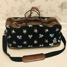 Drop Dead The Simpsons Itchy & Scratchy Unisex Holdall Travel Luggage Bag Black
