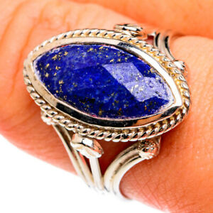 Lapis Lazuli 925 Sterling Silver Ring Size 9 Ana Co Jewelry R77786F