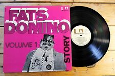 FATS DOMINO STORY VOLUME 1 LP 33T VINYLE EX COVER EX ORIGINAL