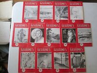GEOTIMES MAGAZINE LOT OF 26 VINTAGE ISSUES from 1959 1960 1961 1962 Geology News