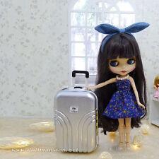 1/4 1/6 BJD bag Dollfie DOD AOD DIM SOOM MID Blythe Doll Luggage Travel Suitcase