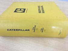 CAT Caterpillar 772 Tractor 773 Truck Service Manual
