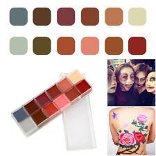 Cosplay Halloween Cream Children Face Paint Body Greasepaint Make-up Waterproof