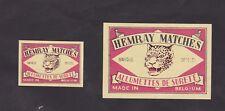 Ancienne étiquette Allumettes Belgique BN24824 Jaguar ou Léopard