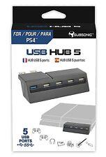 Hub USB 5 ports pour Playstation 4 PS4 Neuf