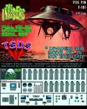 TSDS 101  1/72 The Invaders UFO Decal Set