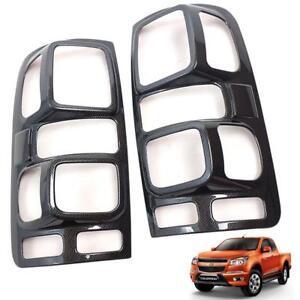 Tail Lamp Light Cover Carbon Fit Chevrolet Colorado 2012-2016 RG Z71