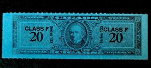 R1/2 US Revenue Stamp Cigar 1953 Series 123 Class F 20 MNHNGAI Incredible Center