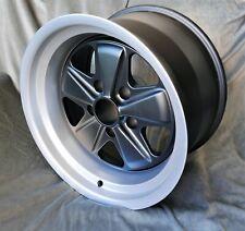 Maxilite - Fuchs style Wheels f Porsche 911 10x17 Black/diamond cut lip w/TÜV