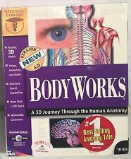 Vintage BODY WORKS Medical Library Windows 3.1/95 CD-ROM Disc NIB Boxed Complete