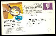 Eatons Canada Postal Stationery Catalog Ad