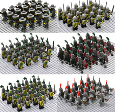 21Pcs Minifigures lego MOC Medieval Knights Rome Spartan Soldiers & Weapons 2020