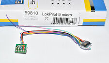 8 broches neuf neuf dans sa boîte ESU 54683 LokPilot micro v4 décodeur DCC//mot//SX Câble